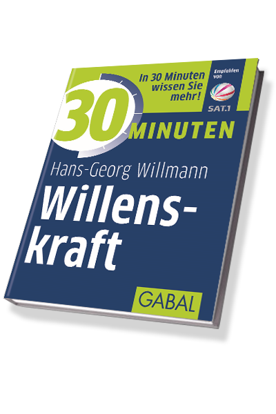 Willmann 30-Minuten Willenskraft Cover 3D