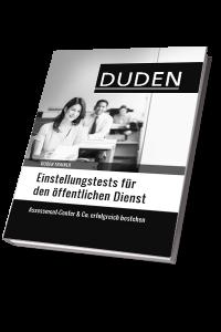 Duden Trainer Einstellungstests Öffentlicher Dienst 2016