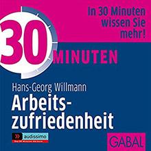 30 Minuten Arbeitszufriedenheit GABAL Hörbuch Cover