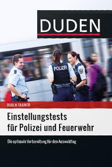 Duden Einstellungstests Polizei und Feuerwehr Cover
