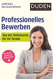 Professionelles Bewerben 2018 DUDEN Cover